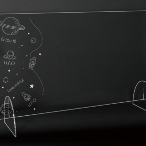 StudioBeam アクリルパネル大 選べるデザイン! E:宇宙:ソーシャルディスタンス サイズ 幅790mm×高さ495mm×奥行190mm
